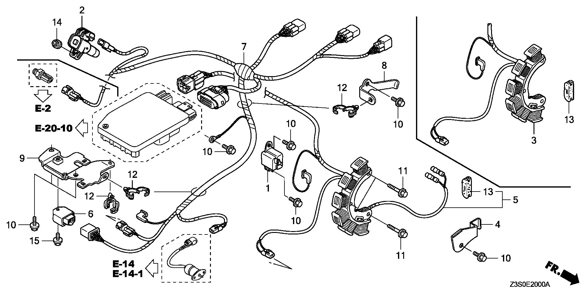 IGNITION COIL@WIRE       HARNESS (1)