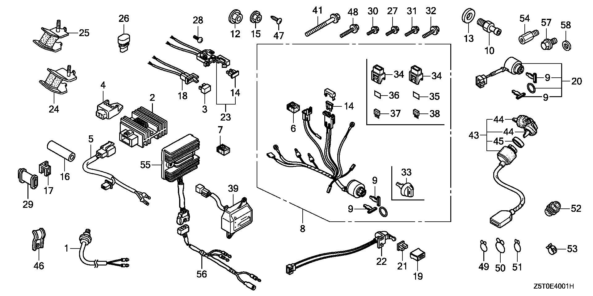 OTHER PARTS (COMBINATION SWITCH)
