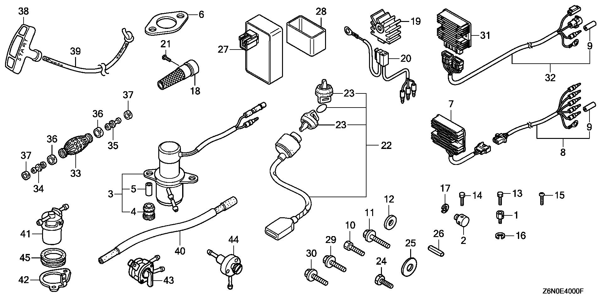 OTHER PARTS (FUEL PUMP)  (REGULATOR RECTIFIER)