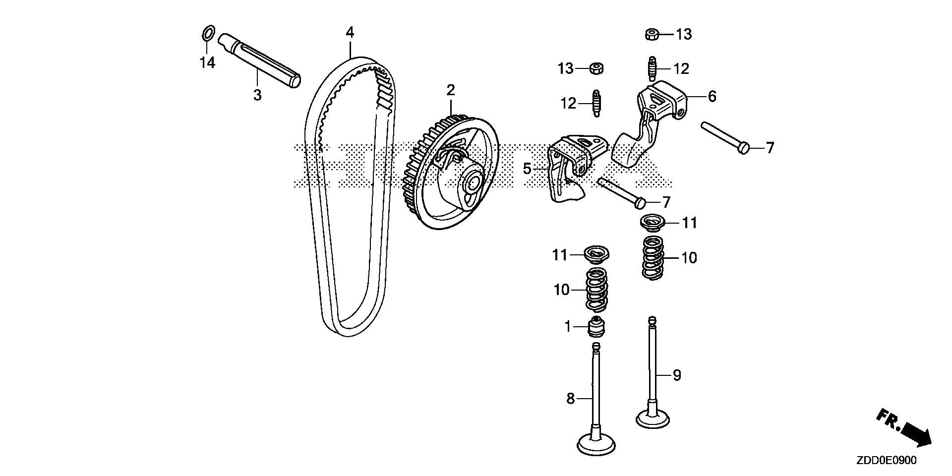 CAMSHAFT PULLEY