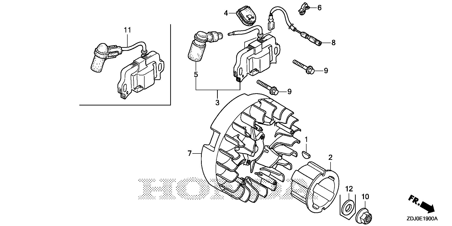 FLYWHEEL@IGNITION COIL