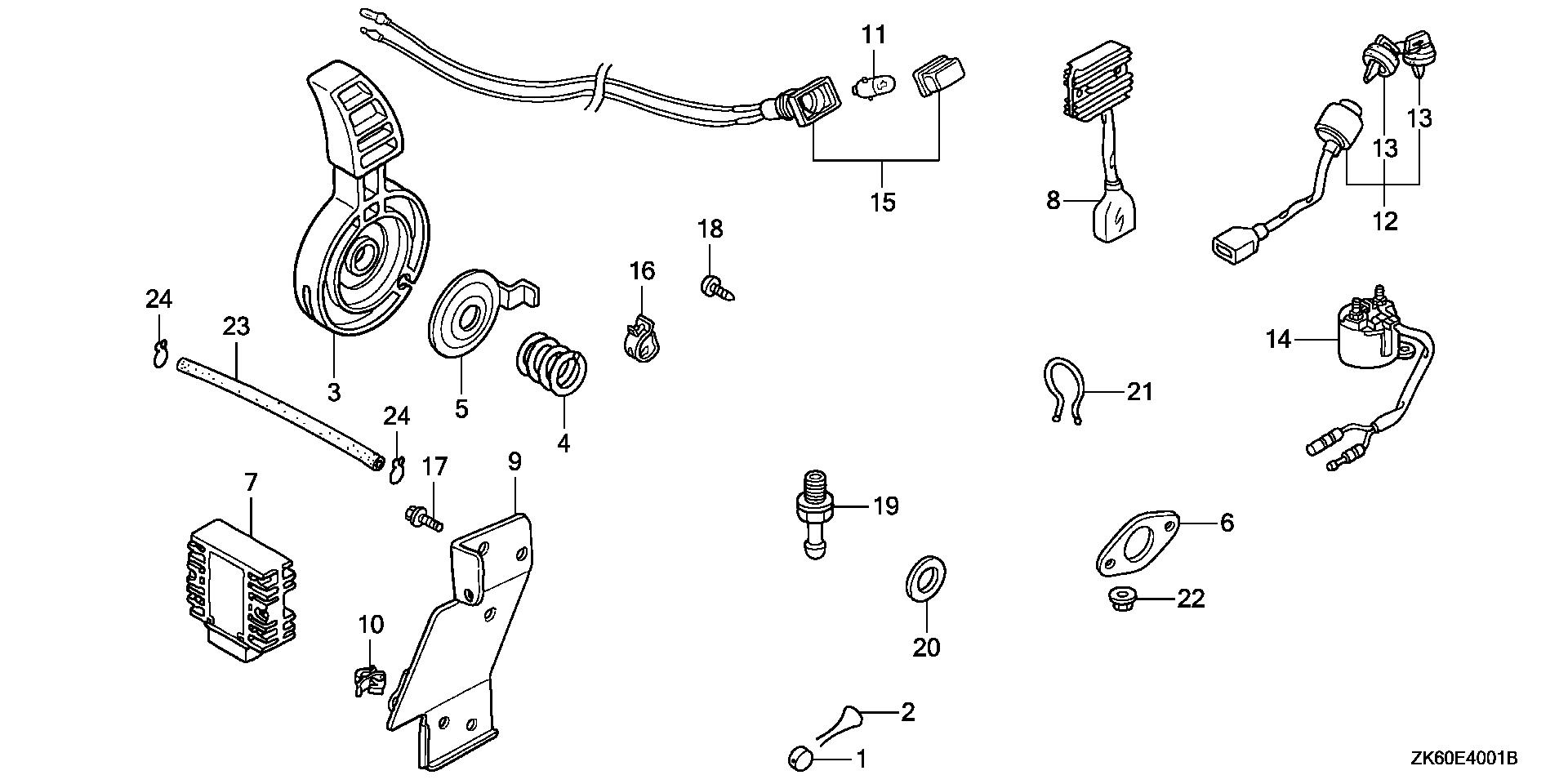 OTHER PARTS (THROTTLE    LEVER)
