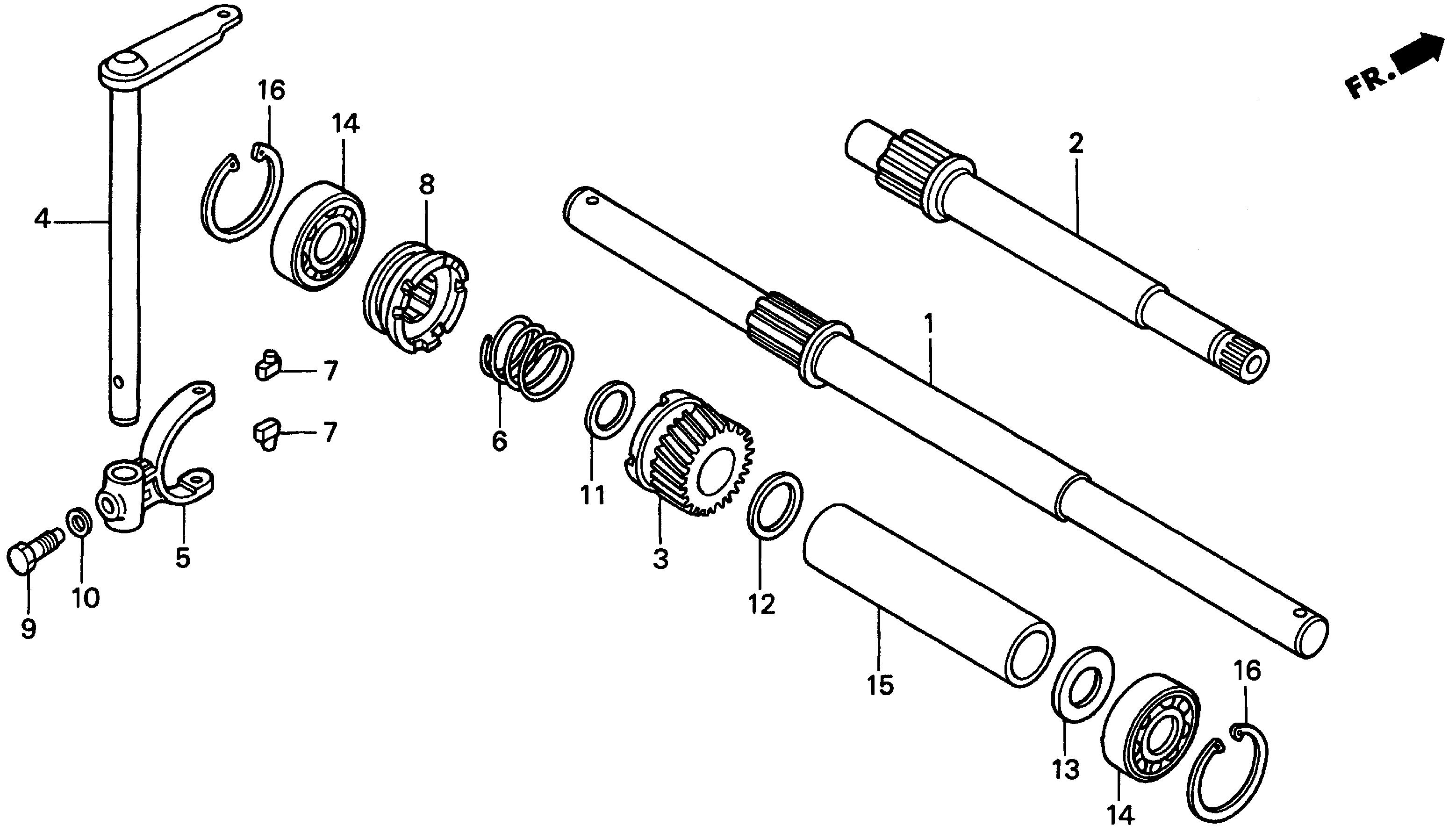 WHEEL SHAFT@DRIVE SHAFT