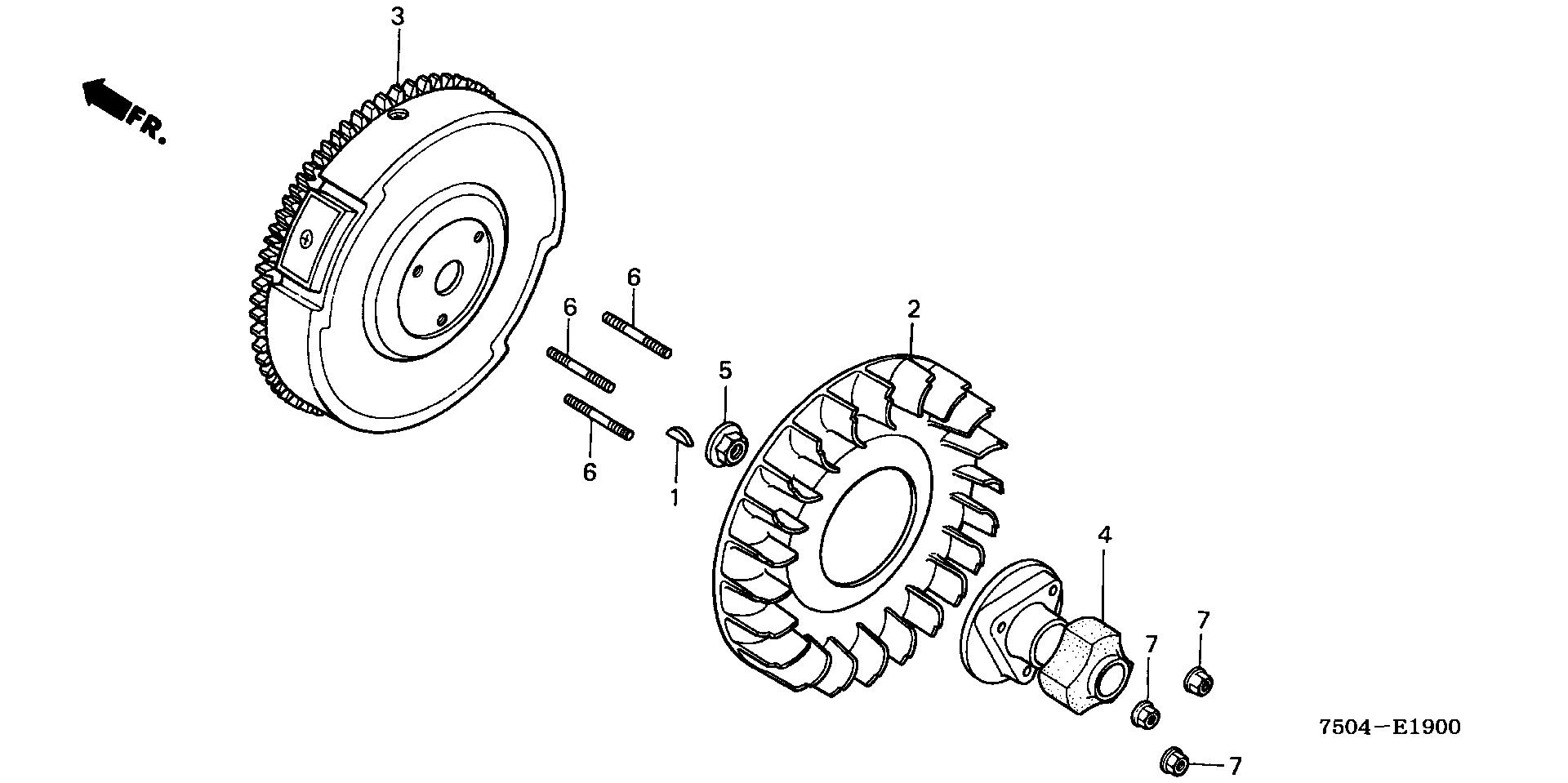 FLYWHEEL (HT3810/K1/K2)