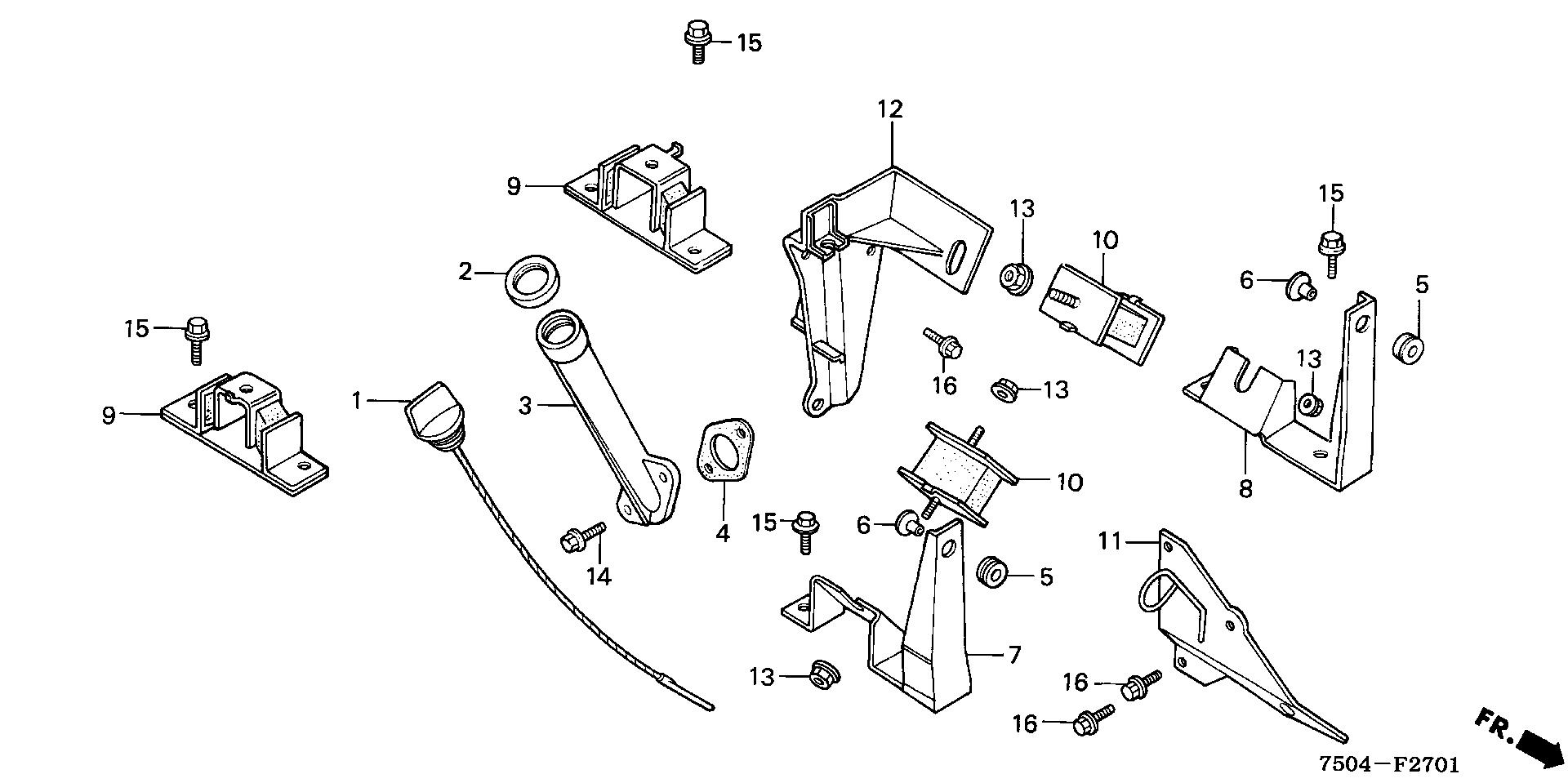 ENGINE MOUNTING STAY     (HT3813/K1/4213)