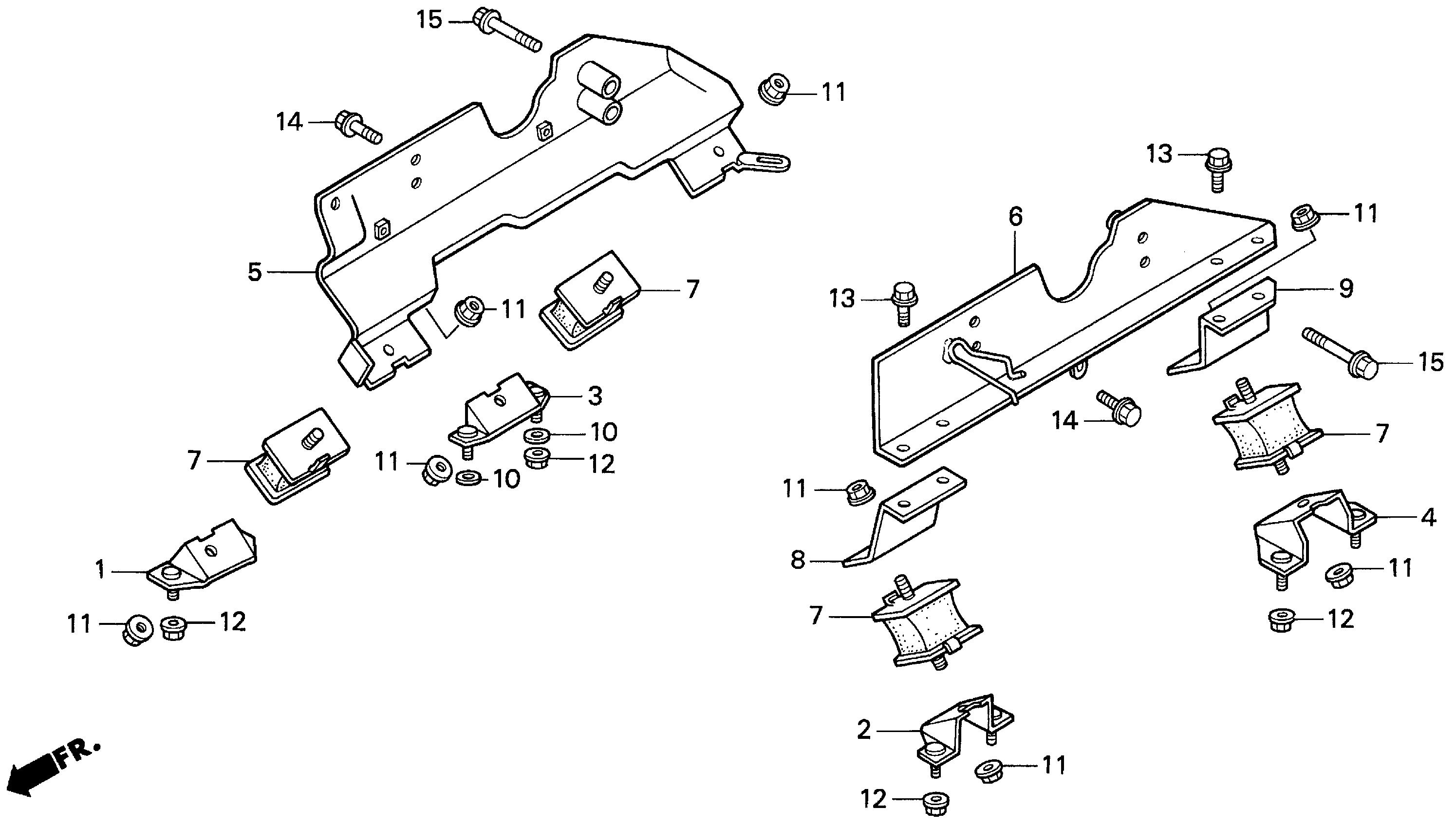 ENGINE MOUNT (H4518H)
