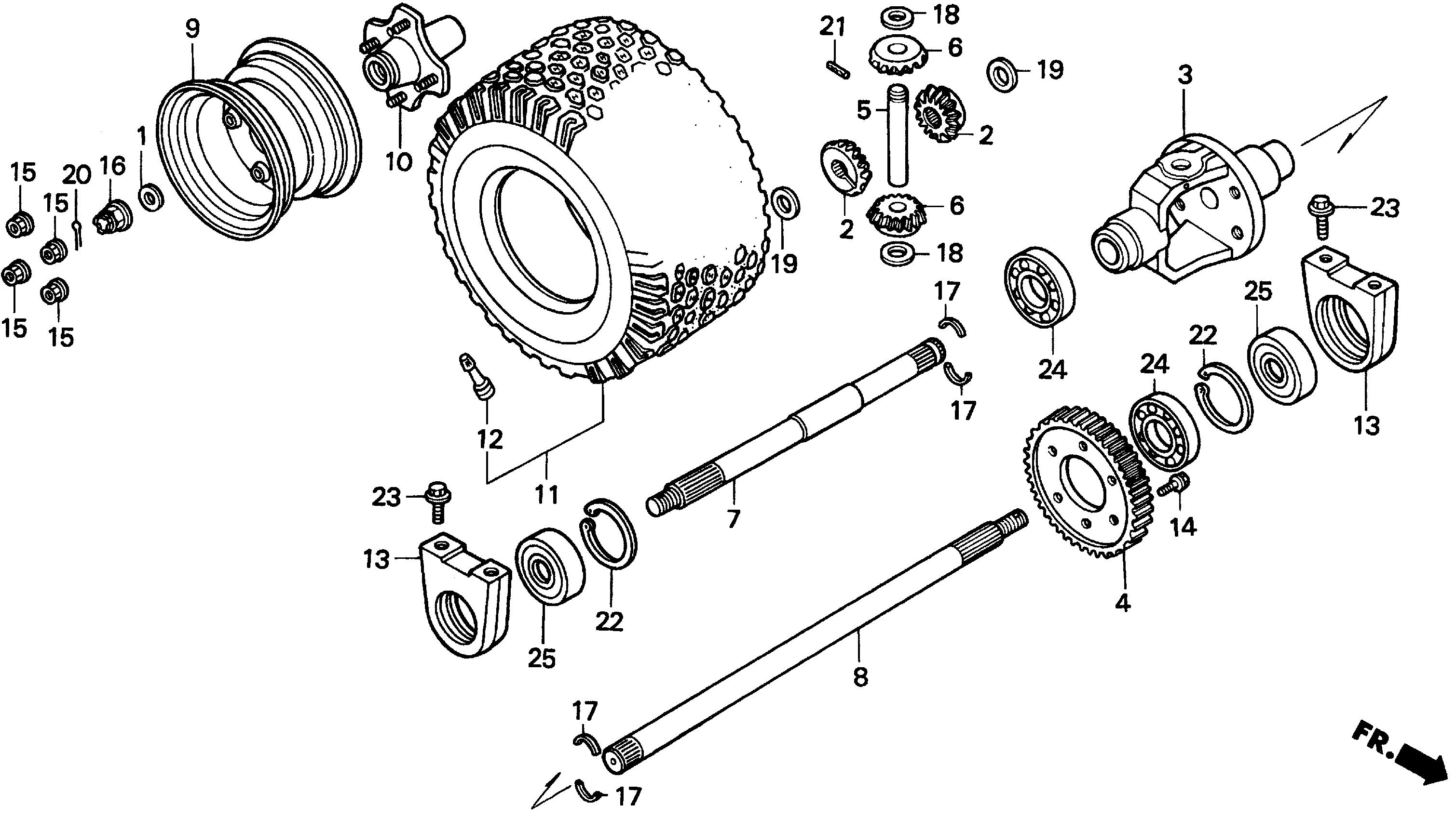 REAR AXLE@REAR WHEEL