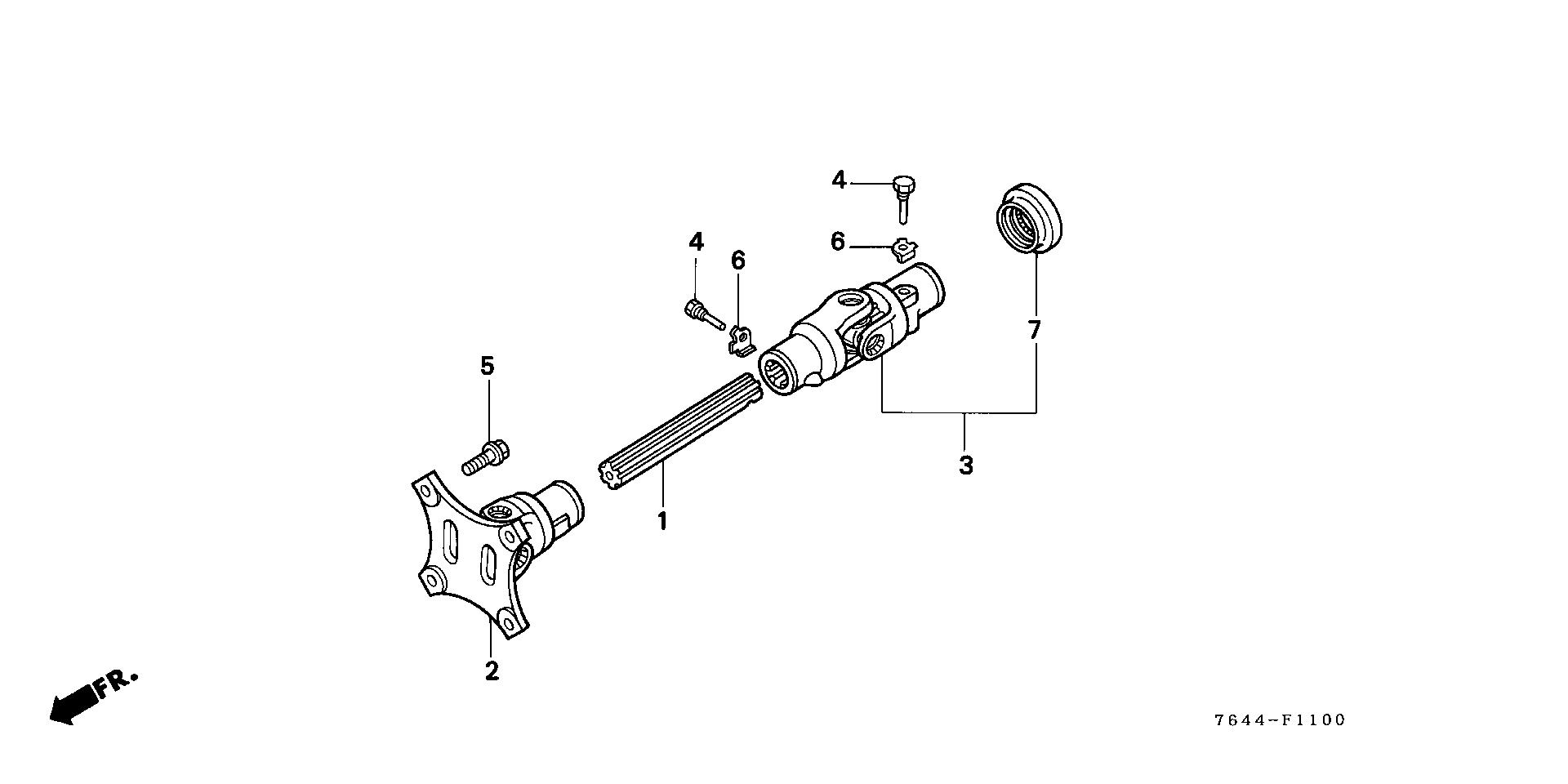 PROPELLER SHAFT A