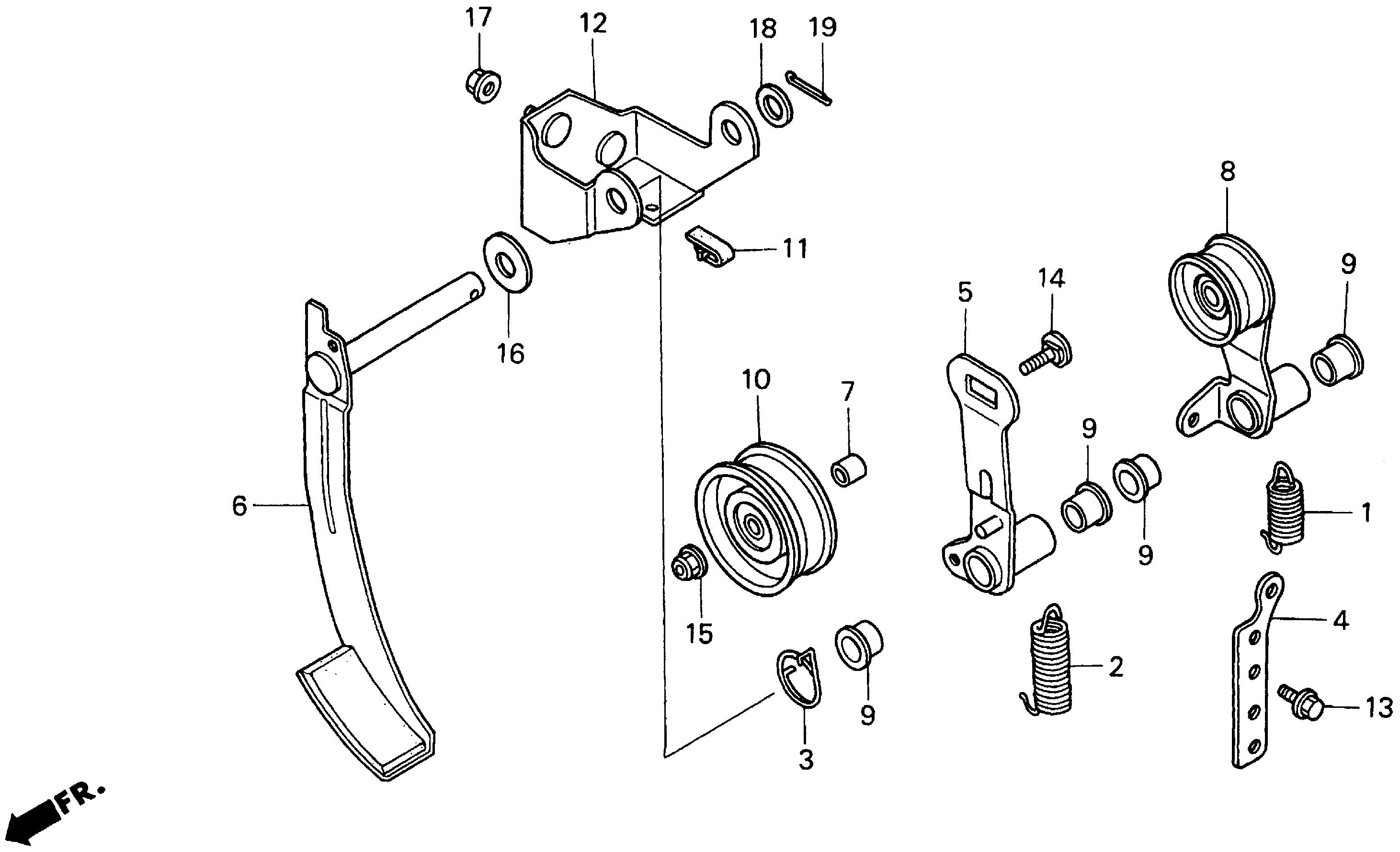 TENSIONER ARM