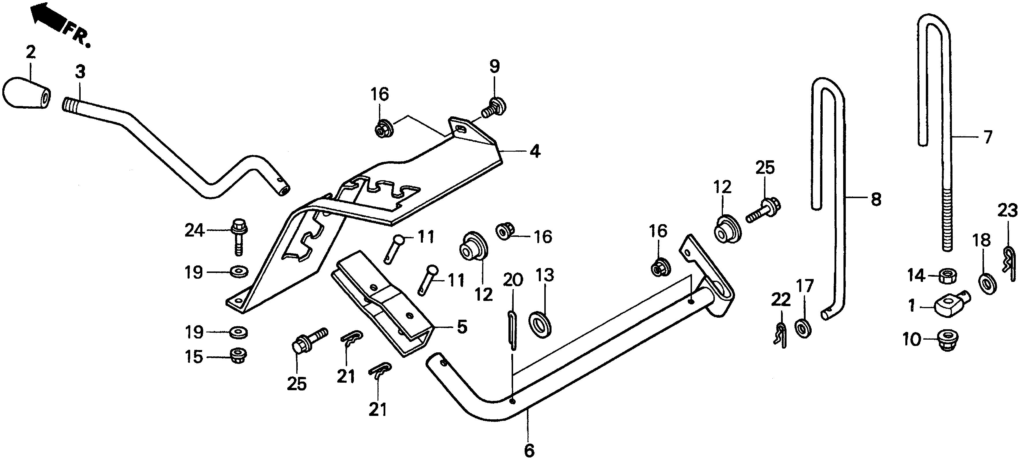 HEIGHT ADJUSTING LEVER
