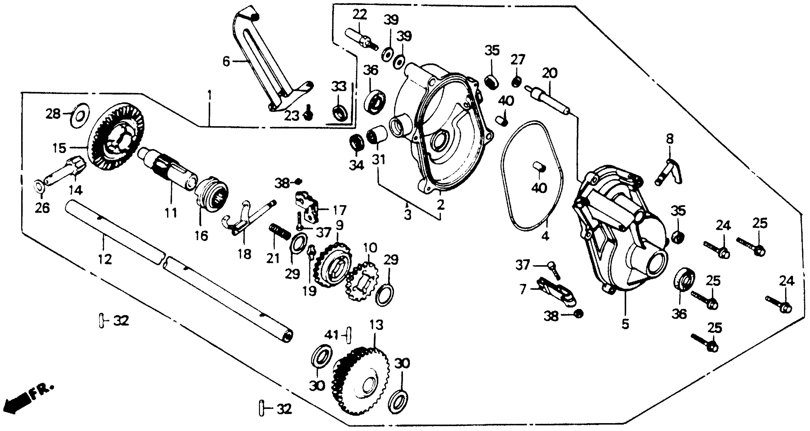 HR194/21TRANSMISSION CASE