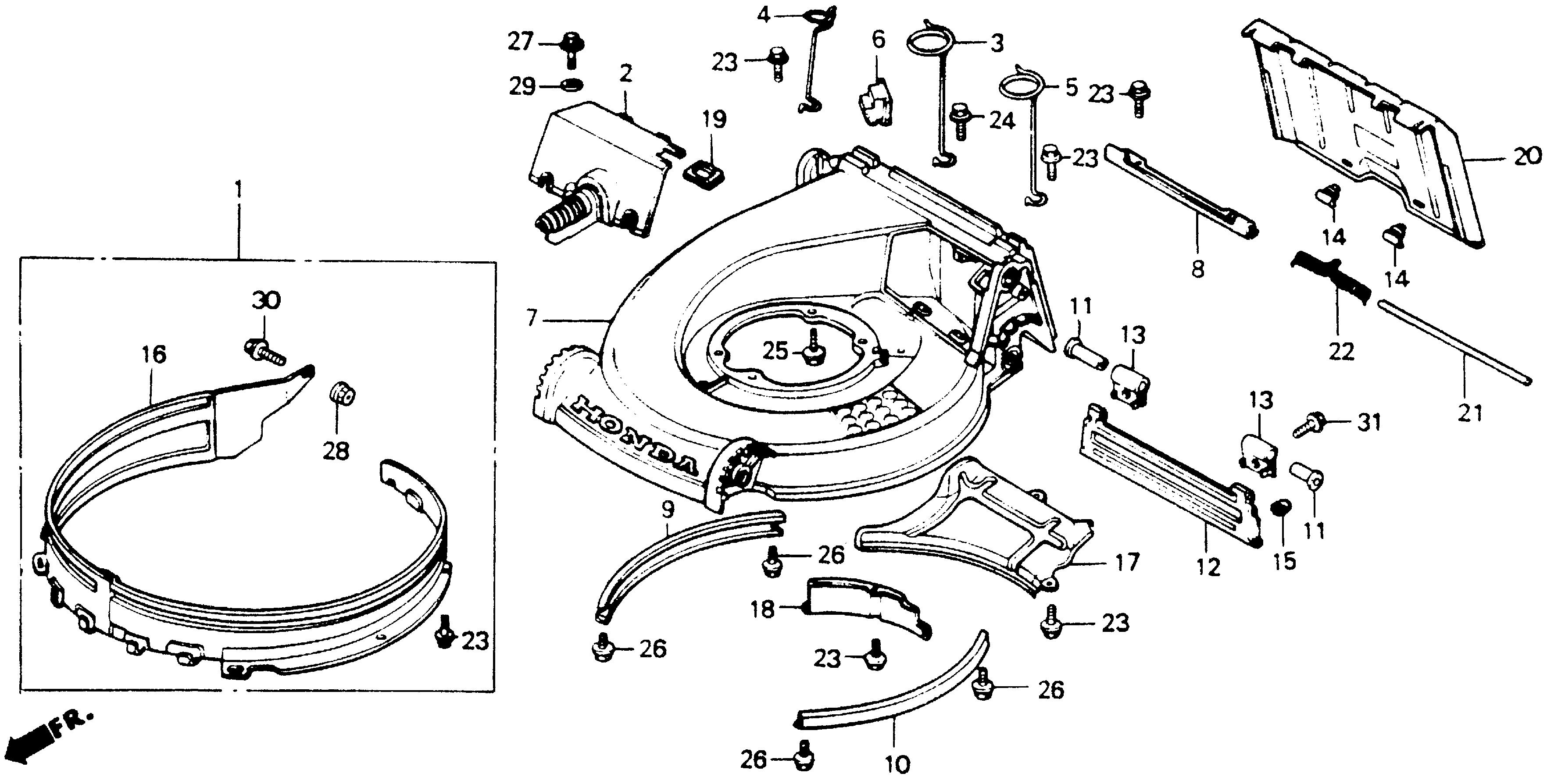 HR214   CUTTER HOUSING