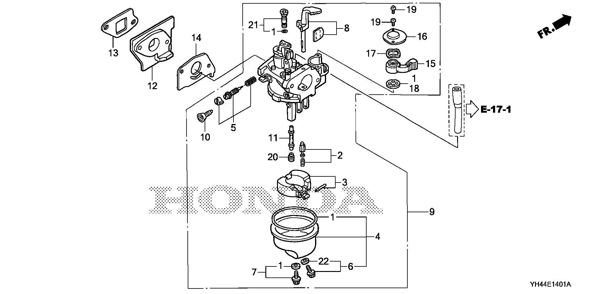 CARBURETOR (WX15T)