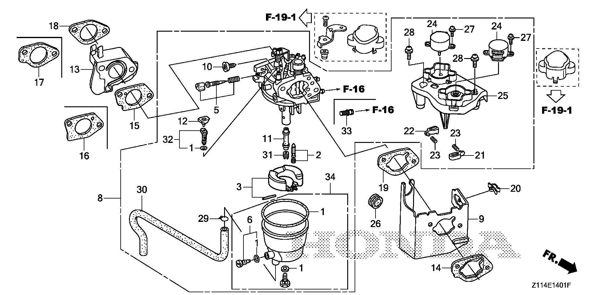 CARBURETOR               (EM5000IS/5000IS1/7000IS)