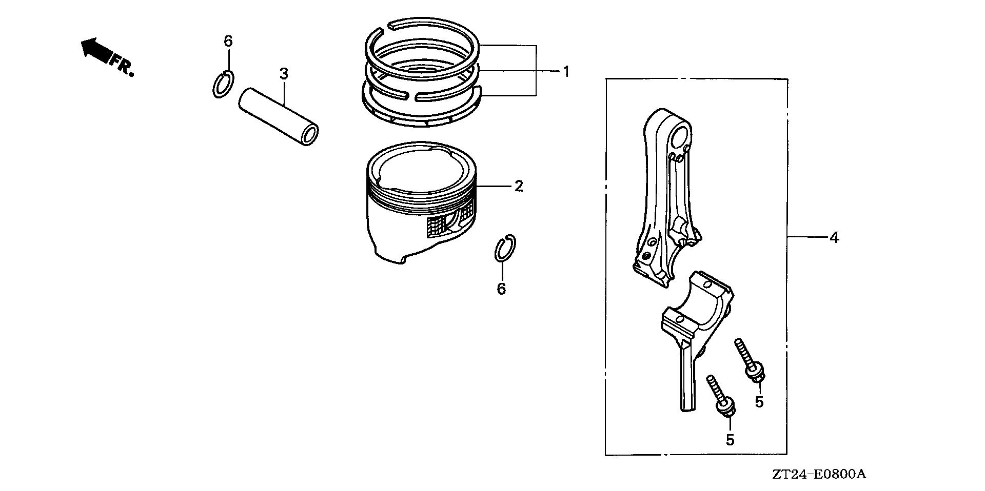 PISTON@CONNECTING ROD