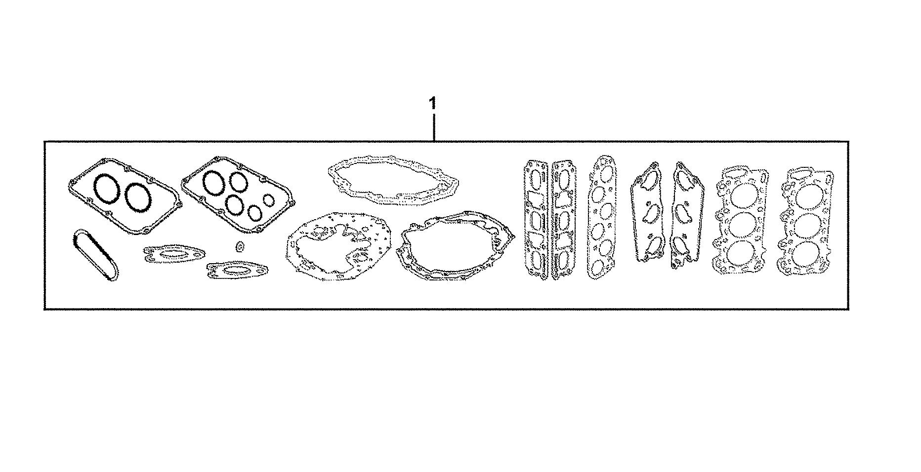 GASKET KIT (SHORT BLOCK & HEAD ASSY.)