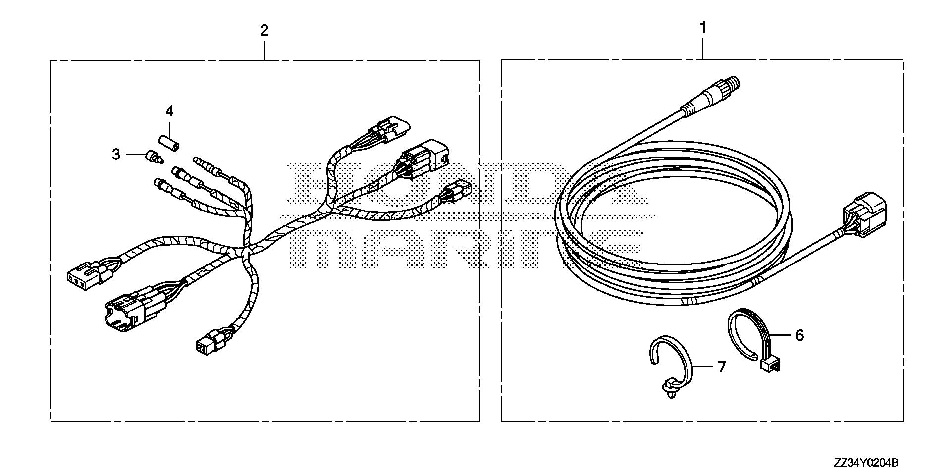 INTERFACE CABLE KIT