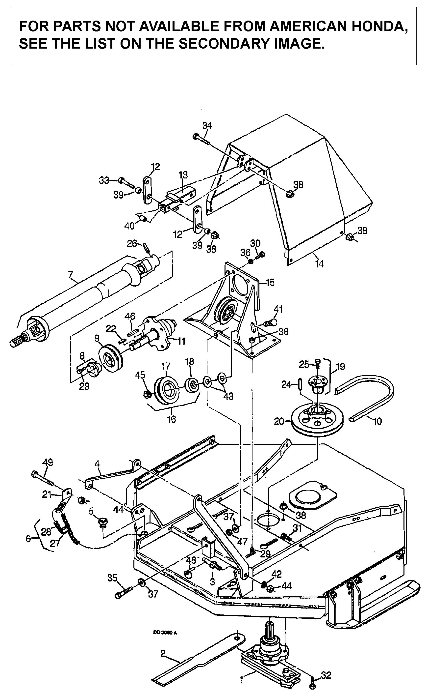 MOUNTING FRAME ASSEMBLY  (RM752A-DB3059)