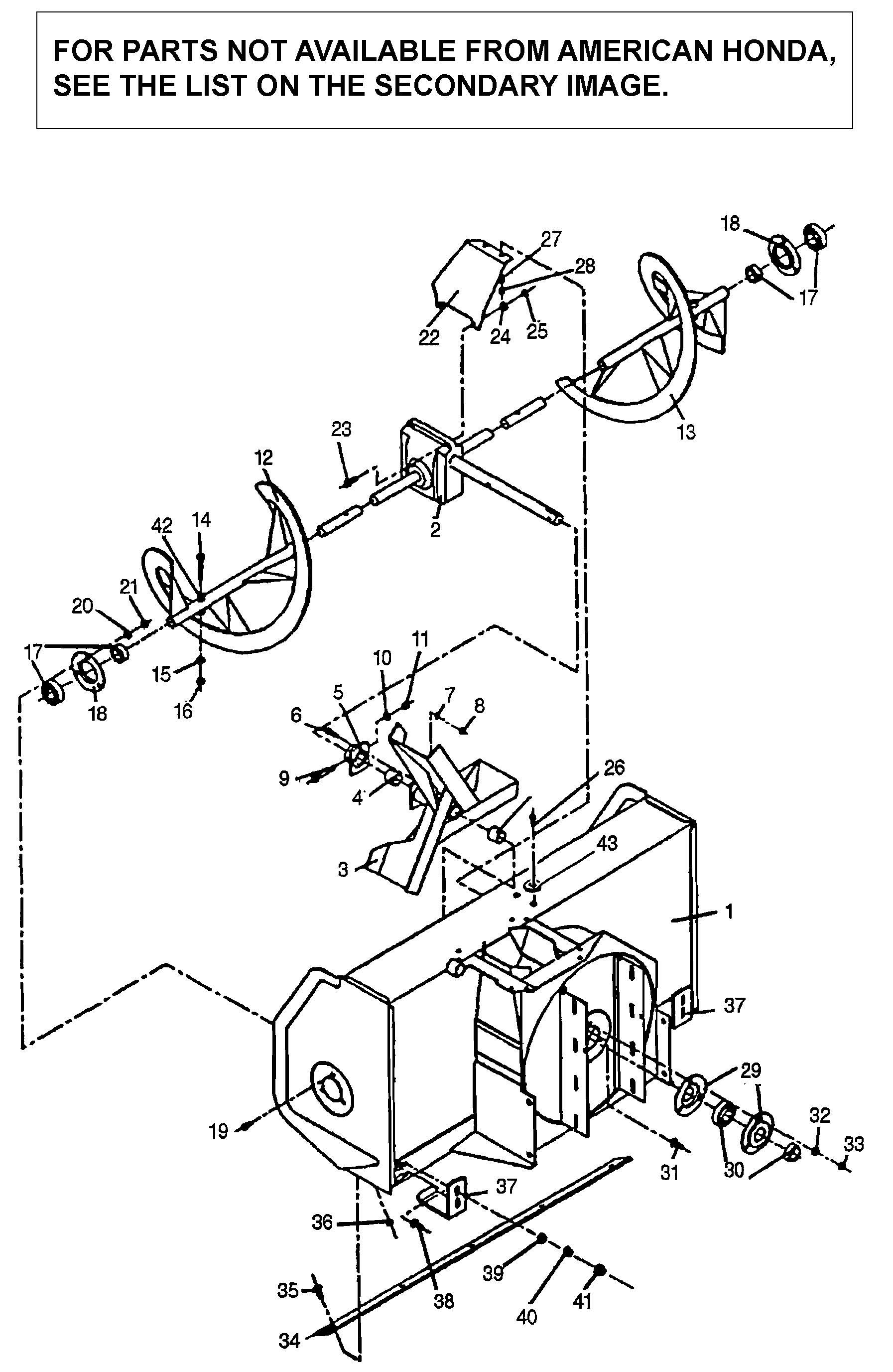 AUGER MECHANISM (SB800)