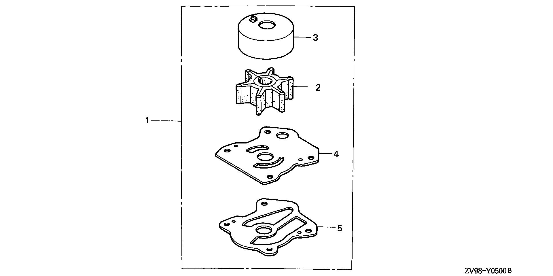 PUMP IMPELLER KIT