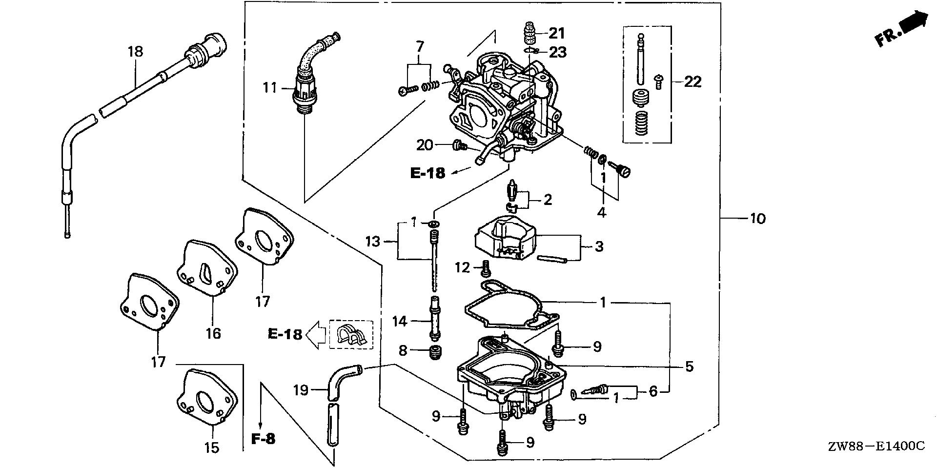 CARBURETOR (MANUAL)